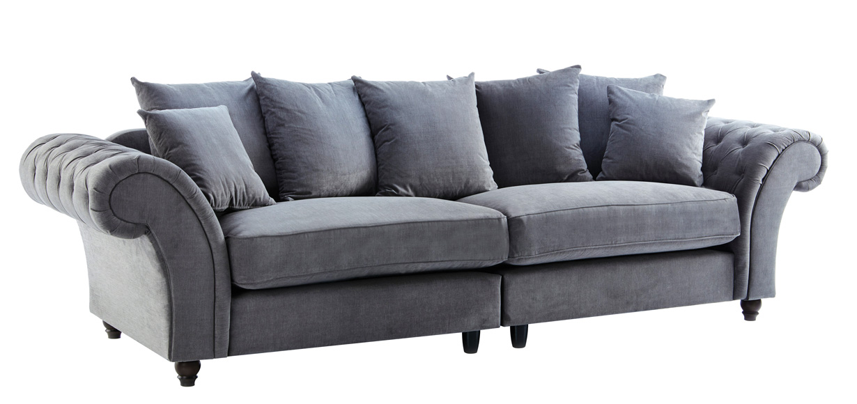 4-seater-Fabric-grey-sofas