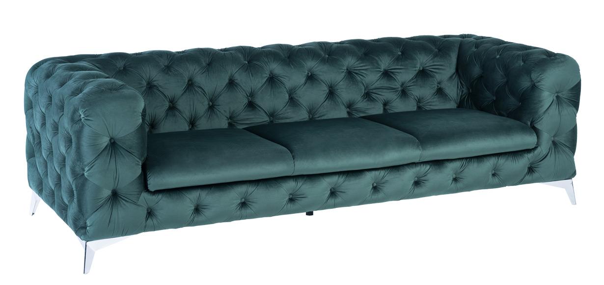 3-seater-luxury-green-velvet-sofas