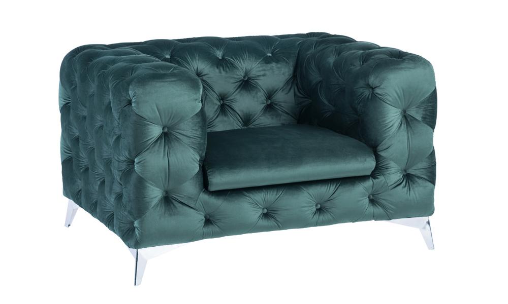 luxury-green-velvet-armchair
