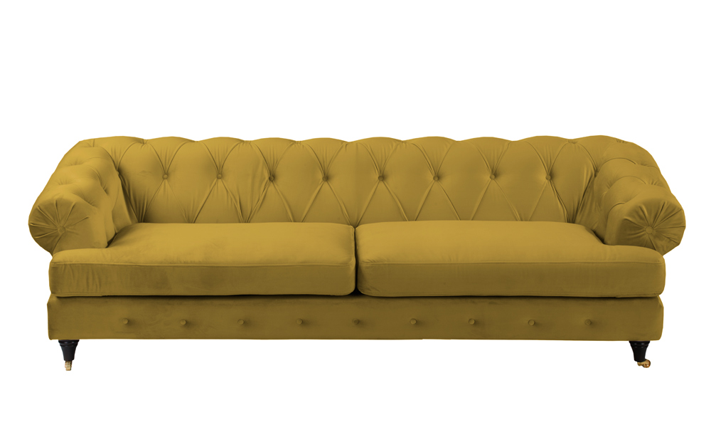 3-seater-yellow-fabric-sofa