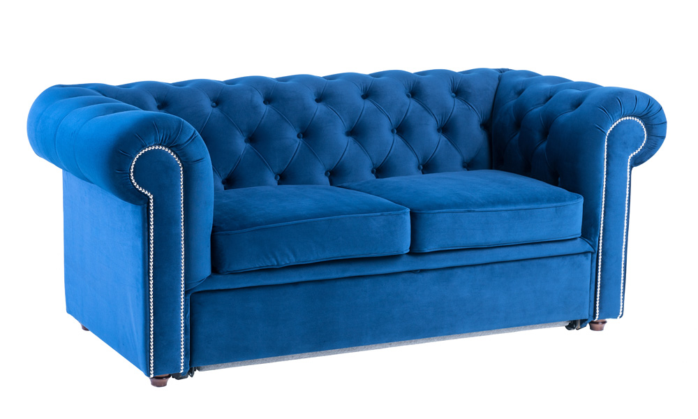 2-seater-luxury-blue-velvet-sofas