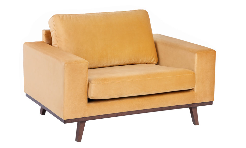 Exclusive-fabric-saffron-armchair