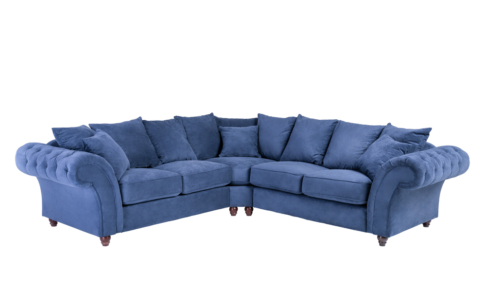 Fabric-blue-corner-sofas