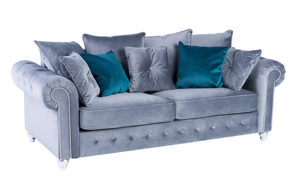 3-seater-velvet-grey-sofa-beds