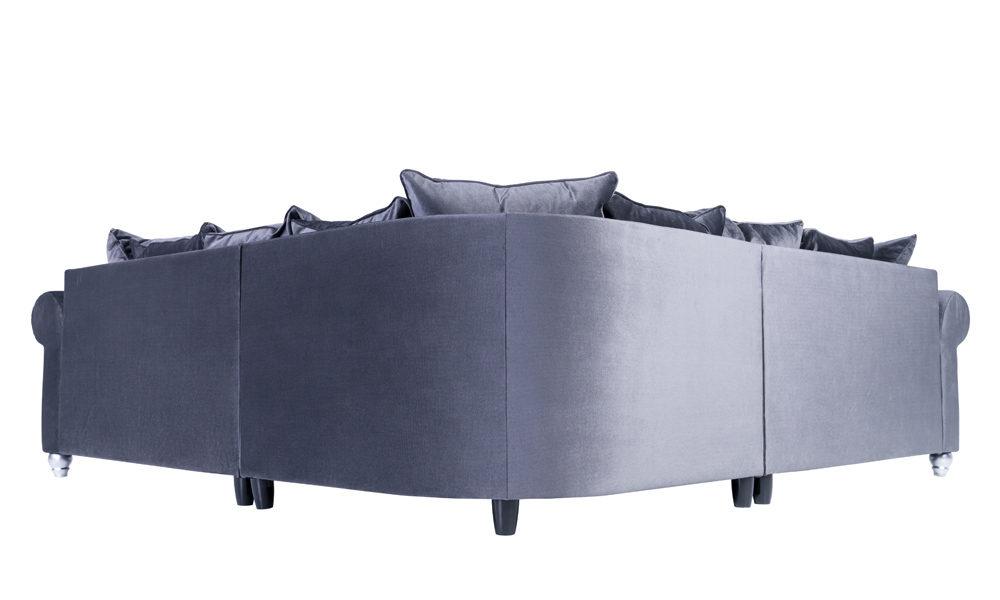 luxury-grey-velvet-corner-sofas