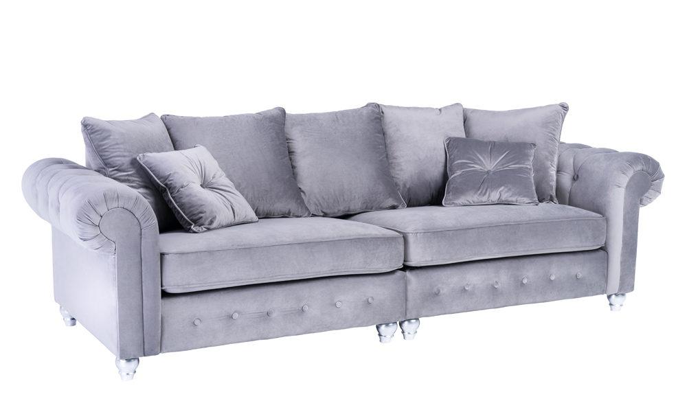 Astonishing Olimpia 4 Seater Velvet Sofa Inzonedesignstudio Interior Chair Design Inzonedesignstudiocom