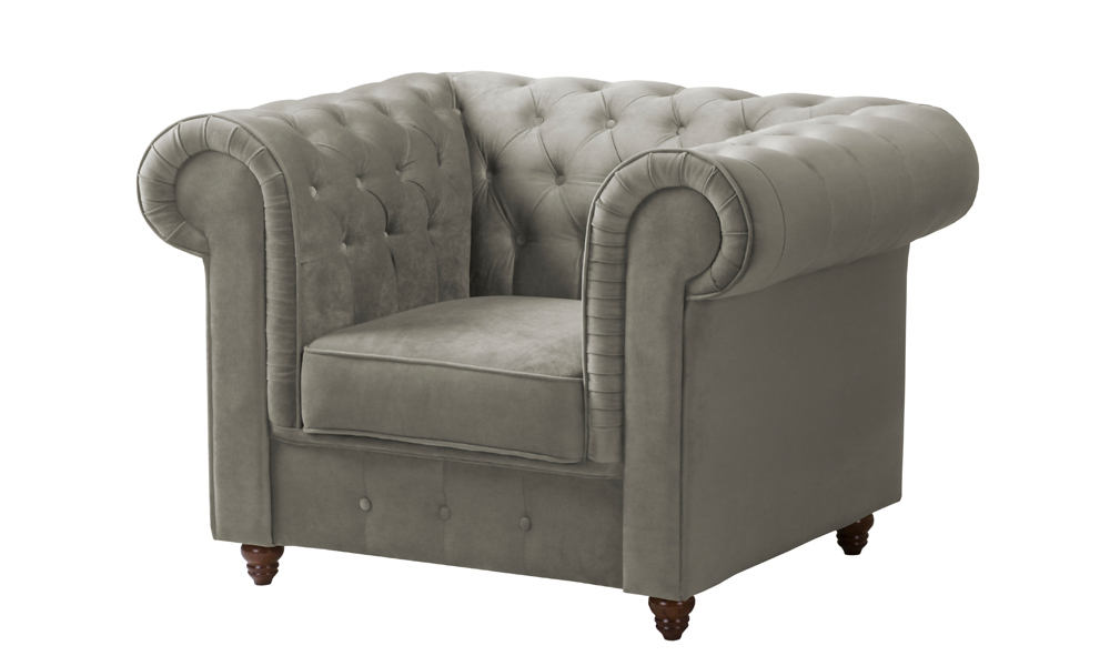 luxury-grey-velvet-armchair