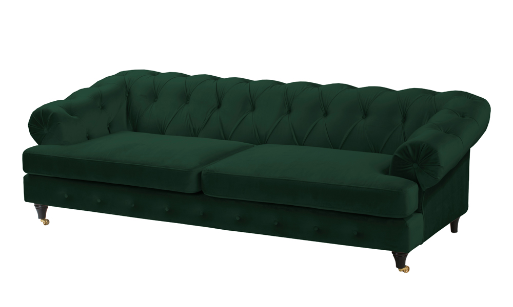 3-seater-green-fabric-sofa