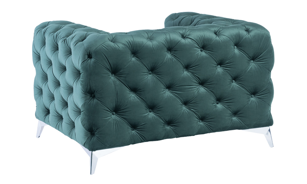 luxury-green-velvet-armchair