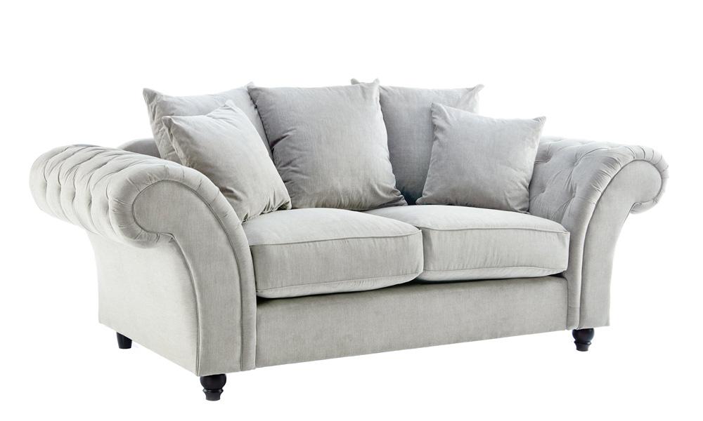2-seater-Fabric-white-sofas