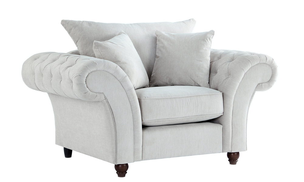Fabric-white-armchair