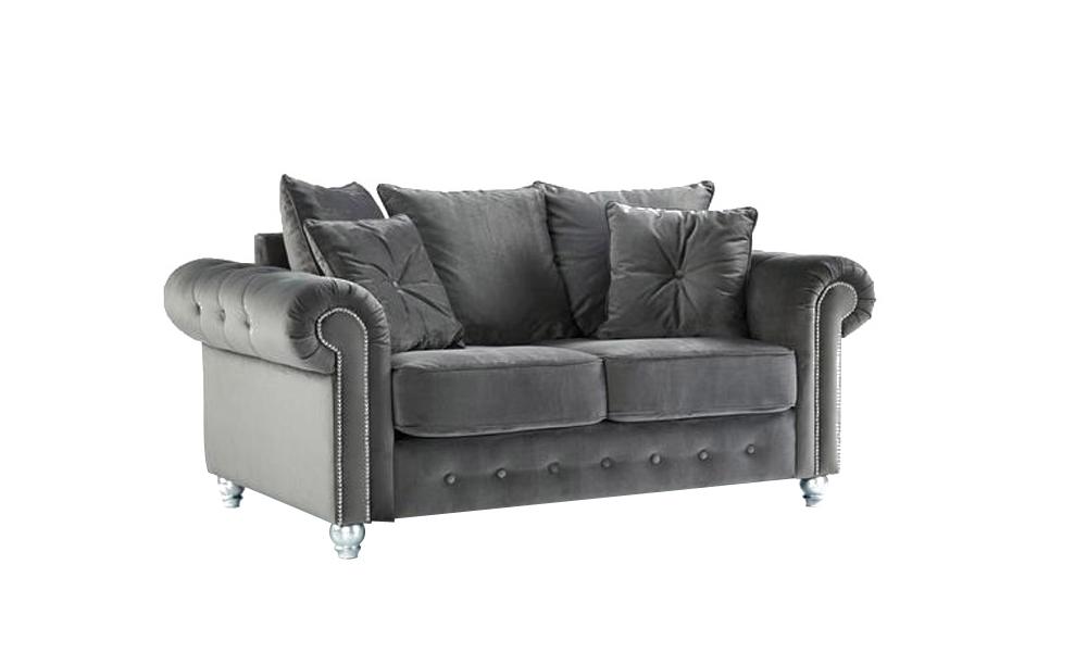 2-seater-grey-velvet-sofas