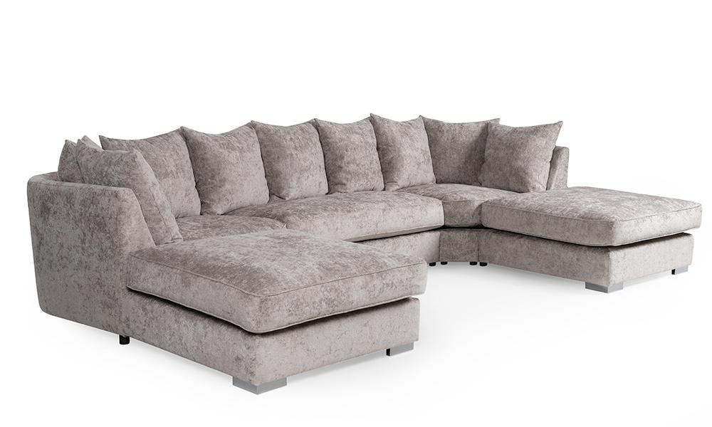 u shaped sofa Mistic