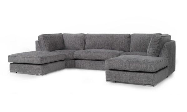 u shaped sofa Milan